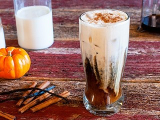 Starbucks Pumpkin Cream Cold Brew copycat recipe by Todd Wilbur