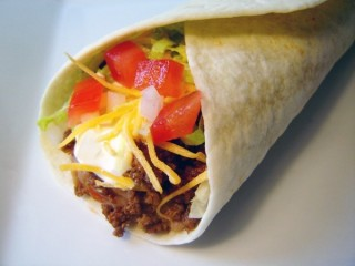Taco Bell Beef Burrito Supreme Reduced-Fat copycat recipe by Todd Wilbur