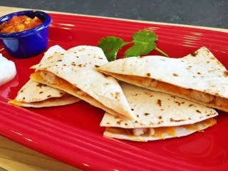 Taco Bell Chicken Quesadilla copycat recipe by Todd Wilbur