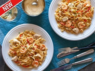 T.G.I. Friday's Cajun Shrimp and Chicken Pasta copycat recipe by Todd Wilbur