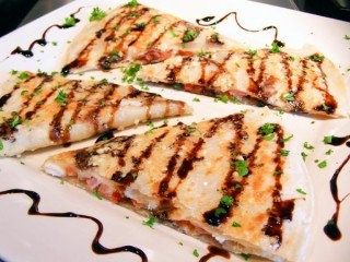 T.G.I. Friday's Parmesan-Crusted Sicilian Quesadilla copycat recipe by Todd Wilbur