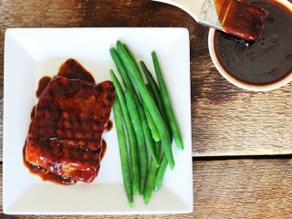 Tony Roma's Carolina Honeys BBQ Salmon copycat recipe by Todd Wilbur